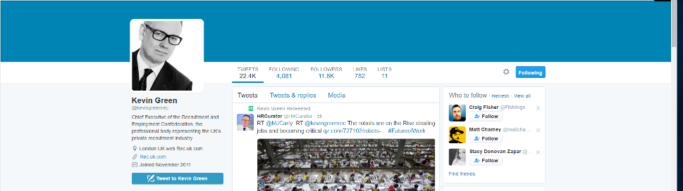 Best recruitment twitter accounts malvernweather Gallery